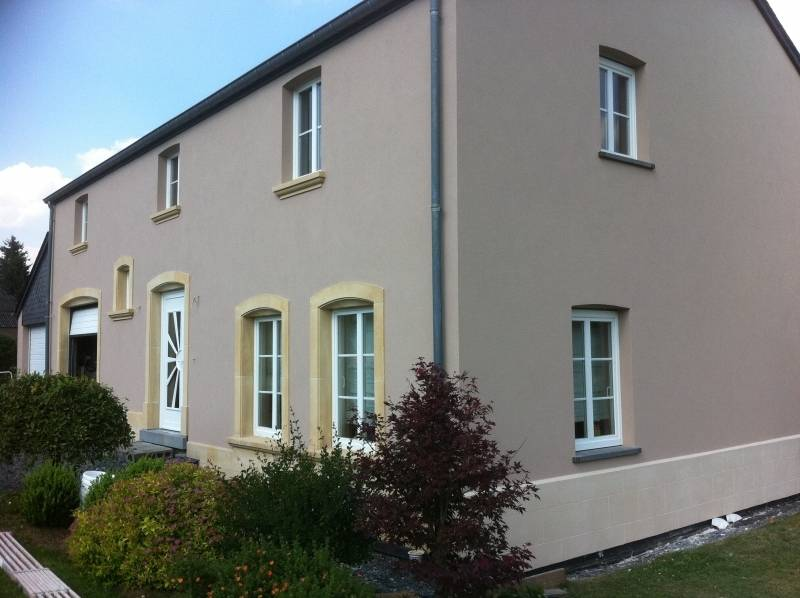 Ravalement de fa ade d 39 une maison ancienne caluire et for Entreprise renovation facade